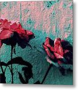 Abstract Hdr Roses Metal Print