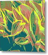 Abstract - Hostatakeover Metal Print