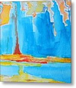 Abstract II Metal Print by Patricia Awapara