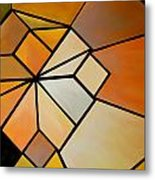 Abstract Impossible Warm Figure Metal Print