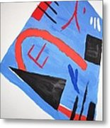 Abstract In Japanese Style Metal Print