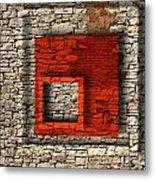 Abstract Istriana Metal Print