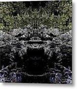 Abstract Kingdom Metal Print