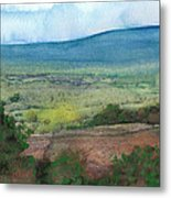 Abstract Landscape 7 Metal Print