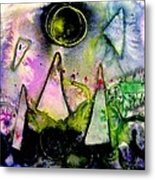 Abstract Landscape  I Metal Print