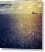 Abstract Landscape Metal Print by Kristin Hodges