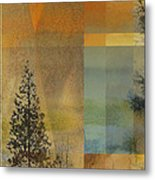 Abstract Landscape One Metal Print