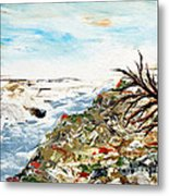 Abstract Landscape Untitled Metal Print