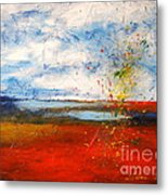 Abstract Lanscape Metal Print