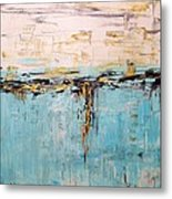 Abstract Large Painting Metal Print