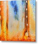 Abstract Lift Off  Metal Print by Pixel Chimp