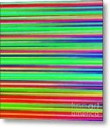 Abstract Lines 3 Metal Print