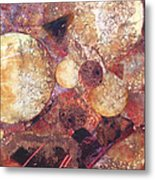Abstract Naturescape Metal Print