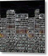 Abstract Night Metal Print