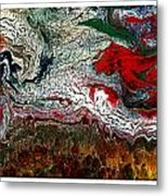 Abstract Number 32 Metal Print