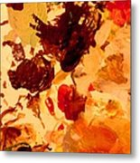 Abstract Number One Metal Print