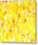 Abstract Of Ginger Metal Print