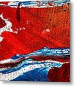 Abstract Original Artwork One Hundred Phoenixes Untitled Number Three Metal Print