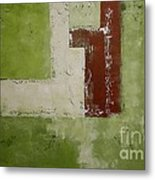 Abstract Painting Green 13013 Metal Print