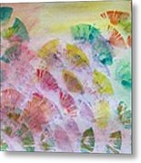 Abstract Petals Metal Print