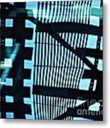 Abstract Reflection 13 Metal Print by Sarah Loft
