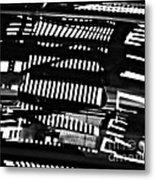 Abstract Reflection 3 Metal Print