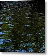 Abstract Ripples Metal Print