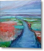 Abstract River Metal Print