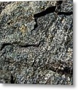 Abstract Rock View Metal Print