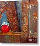 Abstract Rust Metal Print