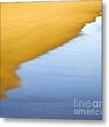 Abstract Seascape Metal Print