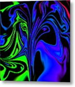 Abstract Series 5 Number 2 Metal Print