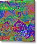 Abstract Series 5 Number 3 Metal Print