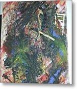 Abstract Smoker Metal Print