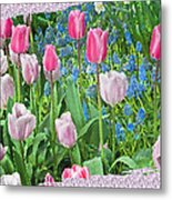 Abstract Spring Floral Fine Art Prints Metal Print