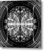Abstract Structure 2 Metal Print