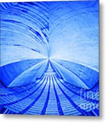 Abstract Structure Metal Print