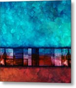 Abstract Study Seven Metal Print by Ann Powell