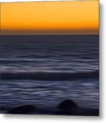 Pacific Abstract Sunset Metal Print