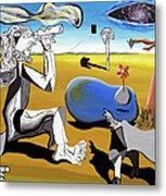 Abstract Surrealism Metal Print