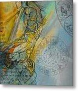 Abstract Tarot Art 015 Metal Print