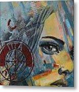 Abstract Tarot Art 022a Metal Print