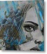 Abstract Tarot Art 022c Metal Print