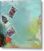 Abstract Tarot Card 009 Metal Print