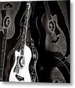 Abstract Taylor Guitars Metal Print