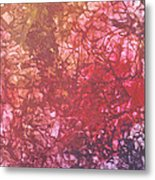 Abstract Tetraptych 4 Of 4 Metal Print