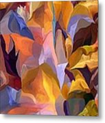 Abstract Vignettes Metal Print