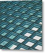 Abstract Windows Metal Print