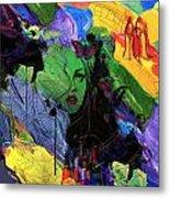 Abstract Women 014 Metal Print