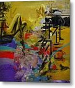 Abstract Women 016 Metal Print